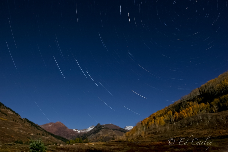 Star Trails, paradise divide, Crested Butte Colorado, Colorado, Stars, Colorado stars, Crested Butte, Oh Be Joyful Campground