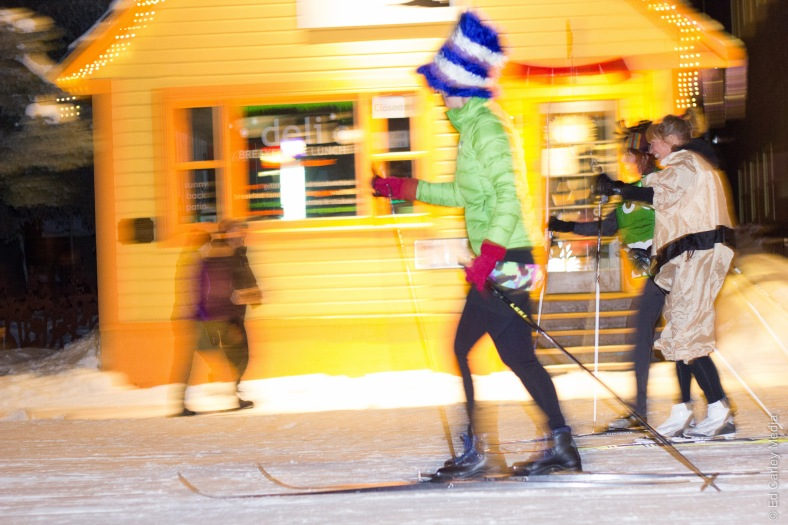 Nordic Skiing on Elk Avenue Crested Butte, Crested Butte, Colorado, Crested Butte colorado, Crested Butte Alley Loop pub crawl, Ed Carley Media, Ed Carley photos, Ed Carley