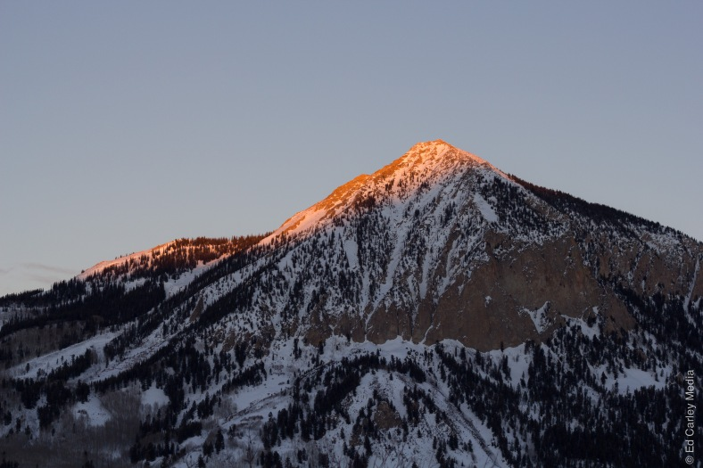 Crested Butte, Colorado, Crested Butte Sunset, mountains