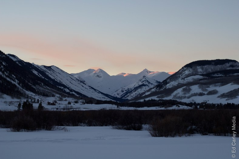 Crested Butte, Colorado, Crested Butte Sunset, Paradise Divide