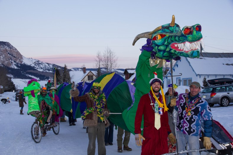 Mardi Gras Crested Butte
