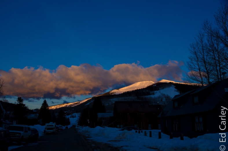 Crested Butte Colorado, Mt. Emmons, Red Lady, Sunrise