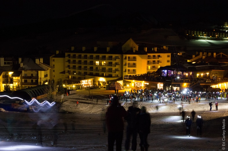 Elk Mountain Grand Traverse, Crested Butte, night skiing