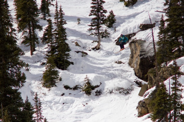 Kyle Taylor Crested Butte freeride tour