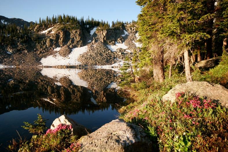 Salmon Lake CO, Colorado, Salmon Lake, Gore Range