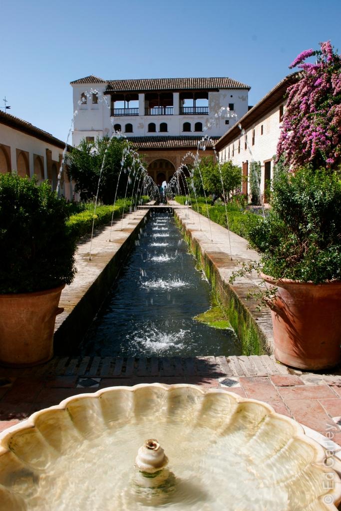Generalife, Granada, Al Hambra, Spain