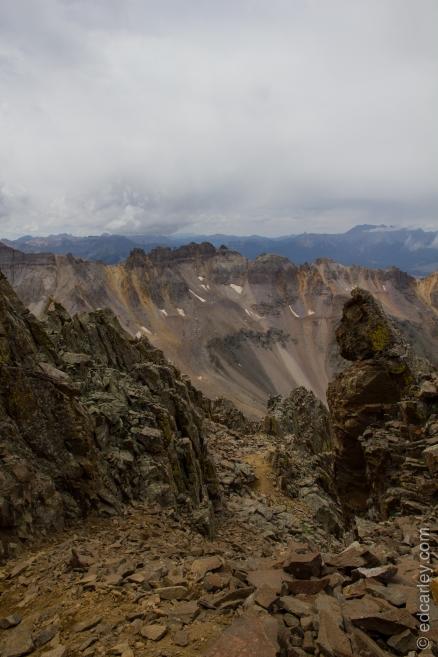 Mt. Sneffels SW ridge.