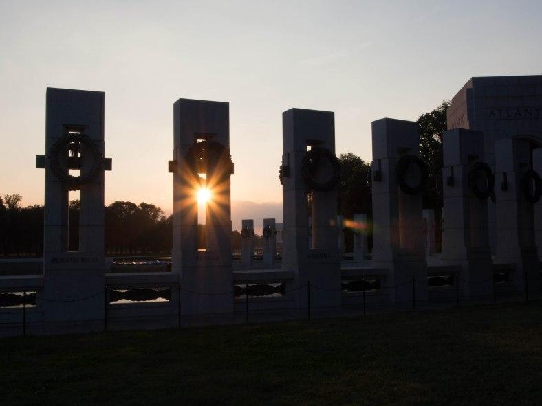 Washington DC, World War 2 monument, World War II monument.