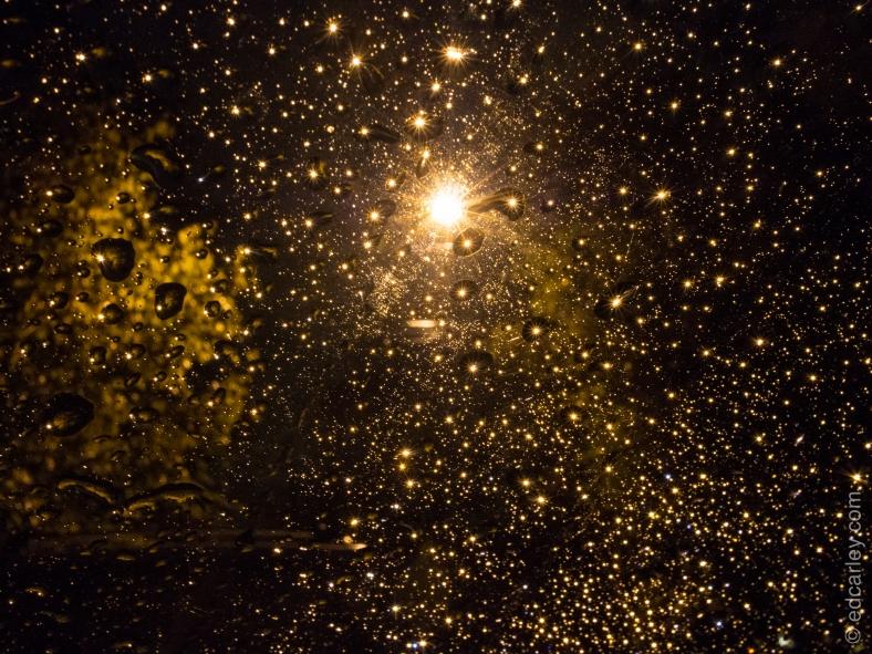 sun stars, abstract