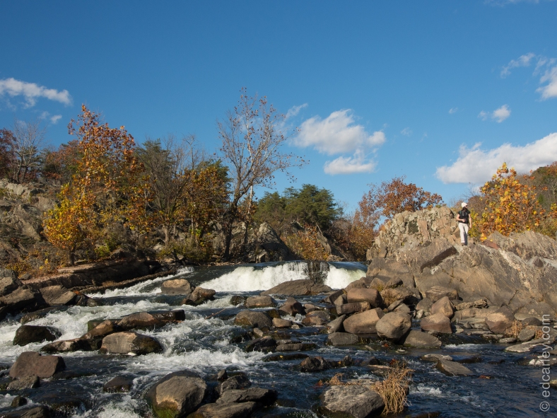 Great Falls Maryland side, Great Falls Park, C and O canal national historic park, Fall Color